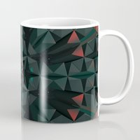 cyberpunk Mugs featuring Crucible by Obvious Warrior