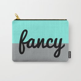 Two Tone Fancy Carry-All Pouch