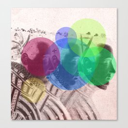 Threefold Canvas Print