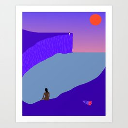 The Space Inbetween Art Print