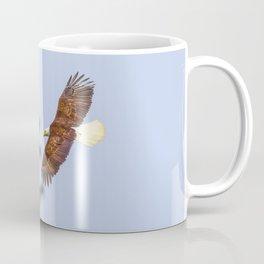 Bald Eagle Soaring  4-17-16  Coffee Mug