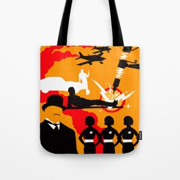 James Bond Golden Era Series :: Goldfinger Tote Bag