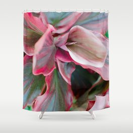 Tea Leaf Bloom Shower Curtain