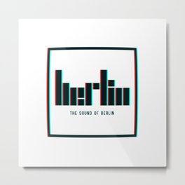 The Sound of Berlin Metal Print