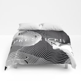 History of Art in Black and White. Expressionism Comforters