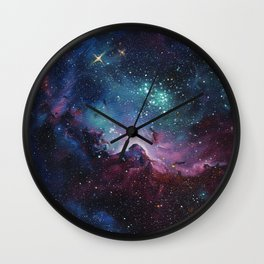 The Birth of Our Stars Wall Clock