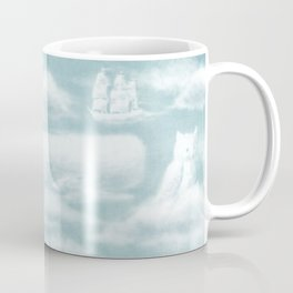 Ocean Meets Sky - Back Endpapers Coffee Mug