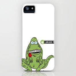 Jurasic Pet iPhone Case