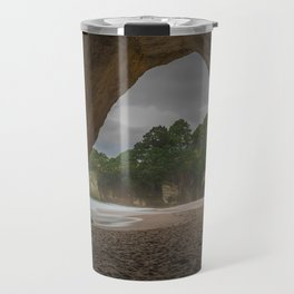 Dawn at Cathedral Cove 2 Travel Mug
