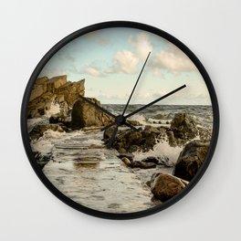 Splooshed Wall Clock