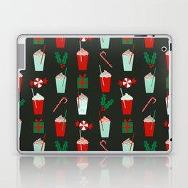 Holiday drinks peppermint mocha latte coffee seasonal sweet dessert treats Laptop & iPad Skin