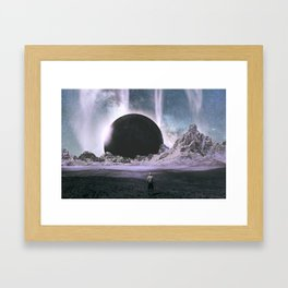 Stare Into An Abyss Framed Art Print