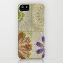 Jean'S Consonance Flowers  ID:16165-071253-84670 iPhone Case