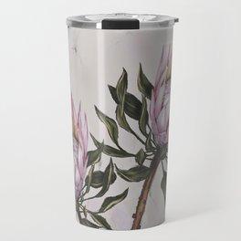 Protea flowers - pink proteas Travel Mug