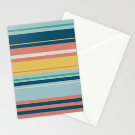 Adelaide Modern Horizon in Blue Multicolor - Stationery Cards