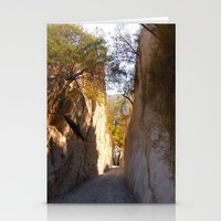 mexican Stationery Cards featuring Mexican desert by lennyfdzz
