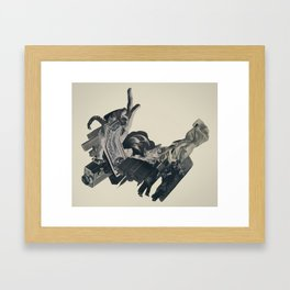 the bandolier of broken dreams Framed Art Print