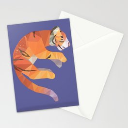 Flying Siberian Tiger Stationery Cards
