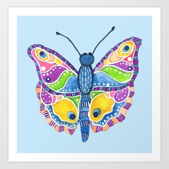Butterfly II Art Print