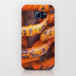 Orange Chains iPhone Case