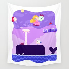 Tiny Worlds - Super Mario Bros. 2: Peach Wall Tapestry