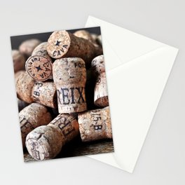 Cork of Champagne Stationery Cards