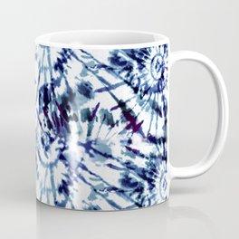 Blue Dye and Tie Coffee Mug