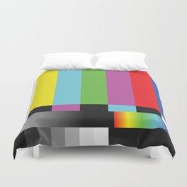 Colour Bars Duvet Cover