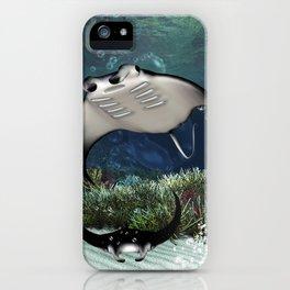 Awesome manta iPhone Case