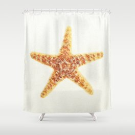Starfish On A Sand. Shower Curtain