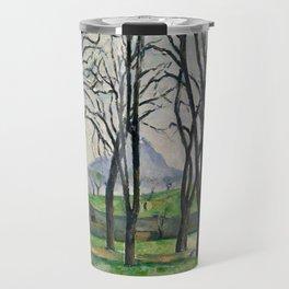 Paul Cezanne - Chestnut Trees at Jas de Bouffan Travel Mug