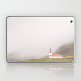 Vik Church in Iceland Laptop & iPad Skin