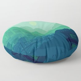 City Overlook Floor Pillow