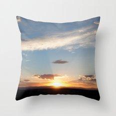 NM Sunset 5 Throw Pillow
