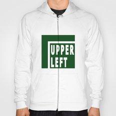 Upperleft Green Hoody