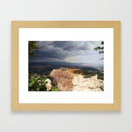 Dark Skies Over Bryce Canyon National Park Framed Art Print