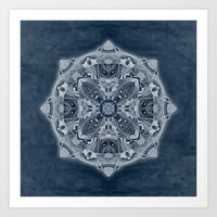 blueprint Art Prints featuring Natural Blueprint by DebS Digs Photo Art