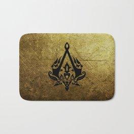 Creed Assassins Grunge Logo Bath Mat