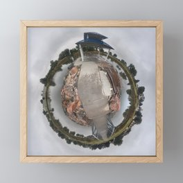 Peaceful Island Framed Mini Art Print