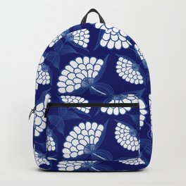 Royal Floral Motif Backpack