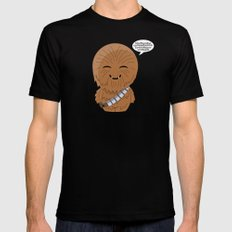 ChibizPop: Rawrg! SMALL Black Mens Fitted Tee