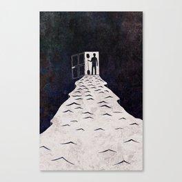 Man at See Canvas Print