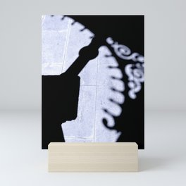 The Shadow of an Arch Mini Art Print