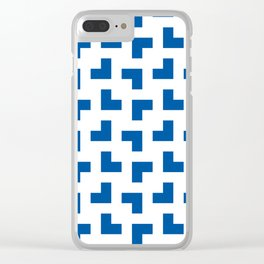 UW Tessellation 1 Clear iPhone Case