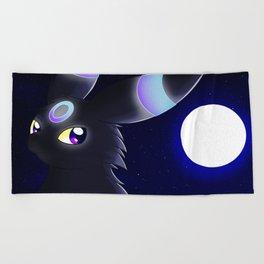 Moonlight - Shiny Umbreon Beach Towel