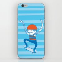 skate iPhone & iPod Skins featuring Skate by Devin Soisson