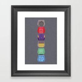 MST3K Doors  Framed Art Print