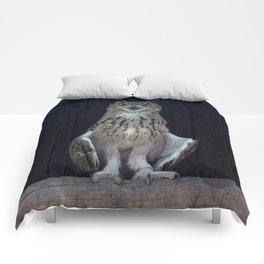 Great Horned Owl  Comforters