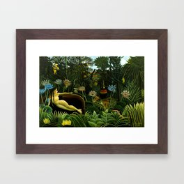 Henri Rousseau The Dream Framed Art Print