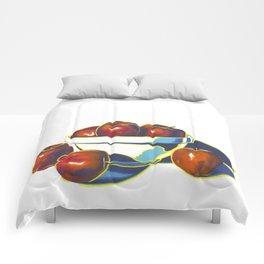 Deez Apples Comforters